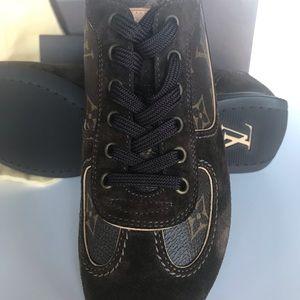 Auth. Louis Vuitton Tennis Shoes